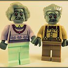 Zombie Grandparents  by minifignick