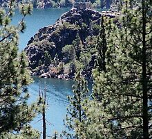 Fannette Island on Lake Tahoe Emerald Bay by Liane6161