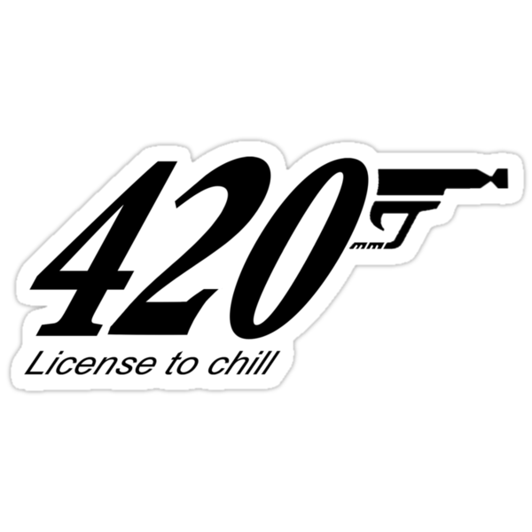 420: license to chill by mouseman