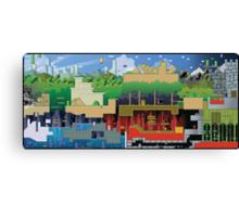Mario world HD design Canvas Print
