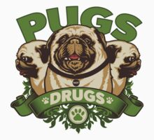 Pugs not Drugs by cromley09