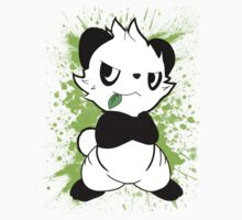 Pokemon - Pancham the Panda by Az McAarow