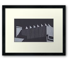 Southbank abstraction II Framed Print