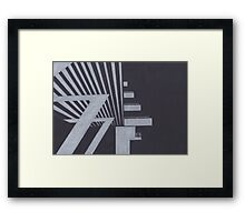 Southbank abstraction III Framed Print