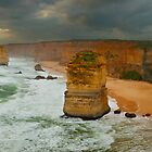 Stormy Twelve Apostles, Great Ocean Road, Victoria, Australia by Michael Boniwell