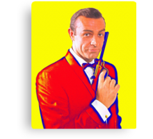 Sean Connery in From Russia with Love Canvas Print