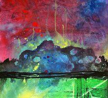 Cosmic Mountain by Sean Hunt