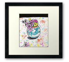 cornish vase 1 Framed Print