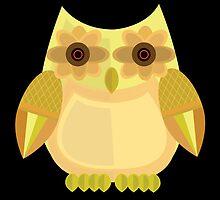 Harvest Owl - Yellow 2 by Adamzworld