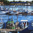 Southampton River Itchen from Cobden Bridge by martyee