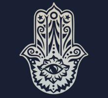 Hamsa - Hand of Fatima, protection symbol Kids Clothes