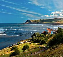 Robin Hood's Bay   Yorkshire  by James  Key