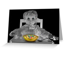 ❀◕‿◕❀JUST ME AND MY FRUIT LOOPS❀◕‿◕❀ Greeting Card