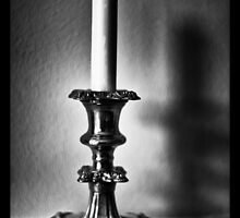 Candle in the wind by Geoff Carpenter
