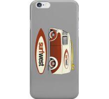 SurfWest Austin Surf Van iPhone Case/Skin