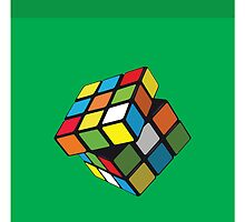 Rubix Cube by threeblackdots