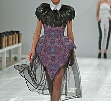 Winner of the 2013 FAD Junior Awards. A model wears a design by Beau Scarlett -Pitt by Keith Larby