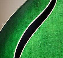 Guitar Abstract by Karol Livote