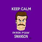 iRon Swanson by rettop70