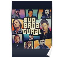 supernatural GTA Poster