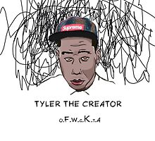 Tyler the Creator Scribble by JordanAdamB
