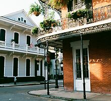 French Quarter in New Orleans by printscapes