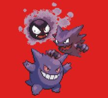 Gastly Evolution by Flaaffy