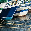 Fishing Boats In Harbour by printscapes