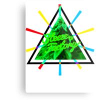 Marijuana   Tri Force   SteezeFactory.com Metal Print