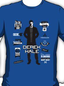 Derek Hale Quotes Teen Wolf T-Shirt