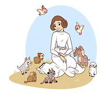 Disney Princess Leia by Stephanie Hodges