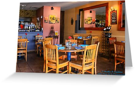 Bistro Interior by heatherfriedman