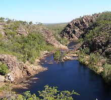 'Edith river' Top of the escarpment. Northern Territory. Australia. by Rita Blom