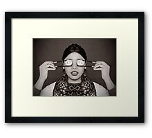 Sushi Eyes Framed Print