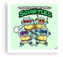 Teenage Mutant Ninja Squirtles Canvas Print