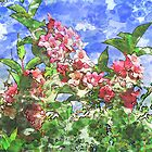 Vancouver Pink Springtime Flowers by GryffinDesigns
