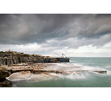 Storms at Portland Bill Photographic Print