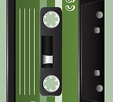 Cassette Tape Case by artvia