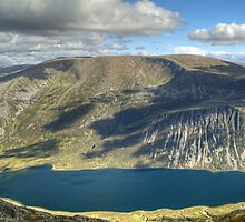 Loch Einich Panorama by Jamie  Green