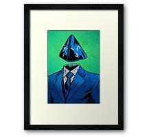 d4 Framed Print