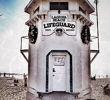 Laguna Beach Lifeguard Station by JocelynVodnik