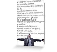 Nathan's Speech Greeting Card