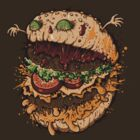 MONSTER BURGER by Letter-Q