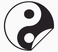Yin Yang Sticker by Style-O-Mat