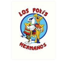 Los Pokés Hermanos Art Print