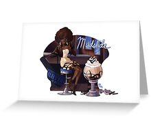 Cocktail Dresses: Mudslide Greeting Card