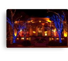 Lights For the Holidays Canvas Print