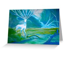 Forest Saint Greeting Card