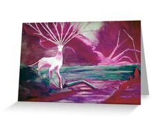 Forest Saint - diffrent color Greeting Card