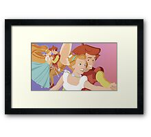 Let me be your wings Framed Print